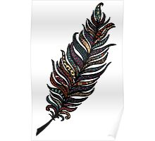 Whimsical Feather Poster