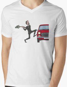 Basil's Fury Mens V-Neck T-Shirt