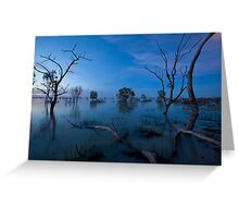 Menindee Greeting Card