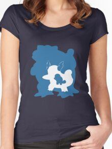 Squirtle Inception Women's Fitted Scoop T-Shirt