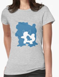 Squirtle Inception Womens Fitted T-Shirt