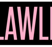 PHLAWLESS Sticker