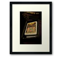 The Lovers Fortune Framed Print