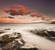 Bamburgh Sunset by Brian Kerr