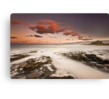 Bamburgh Sunset Canvas Print