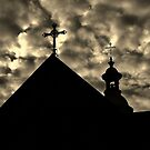 Crosses At Altocumulus by Miku Jules Boris Smeets