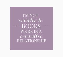 Addicted to Books (lavender request) Unisex T-Shirt