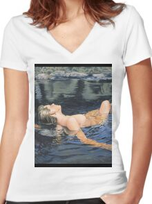 Shelly 2 Women's Fitted V-Neck T-Shirt