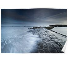 Cullercoats Bay Poster
