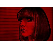 Red doll Photographic Print