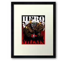 Professor Mad Brainer Smash! Framed Print