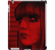 Red doll iPad Case/Skin