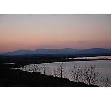 Loch Leven Sunset Photographic Print