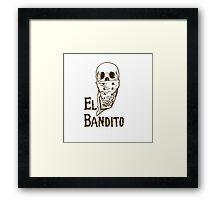 El Bandito Framed Print