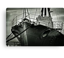 First of her Class. Last of the Fleet Canvas Print