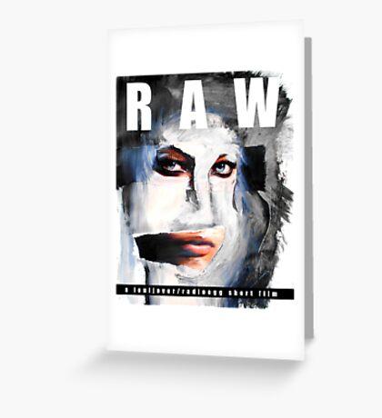 RAW Greeting Card