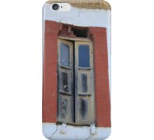 Old Window in a Wall iPhone Case/Skin