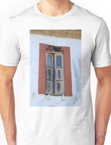 Old Window in a Wall Unisex T-Shirt