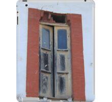 Old Window in a Wall iPad Case/Skin