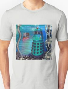 Journey's End - Dalek Wall Art T-Shirt