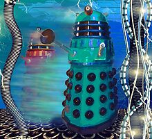 Journey's End - Dalek Wall Art by Moonlake