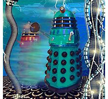 Journey's End - Dalek Wall Art Photographic Print