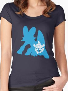 Mudkip Inception Women's Fitted Scoop T-Shirt