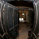 Burned door by Maxim Mayorov