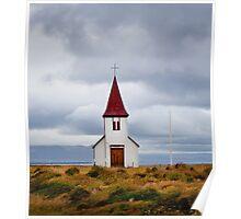 The Church at Hellnar Poster