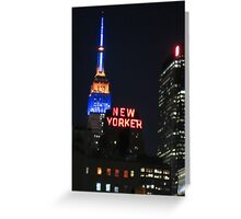 New Yorker Greeting Card