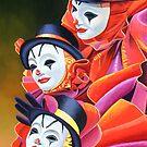 Carnival Clown by Graeme  Stevenson