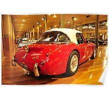 1956 Healey 100 BN Le Mans Poster