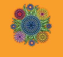 Mandala flowers Unisex T-Shirt