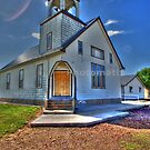 Church on the Prairie by WolfPause