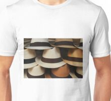 Straw Hats at the Market Unisex T-Shirt