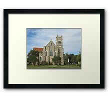 St. Pauls Anglican Church, Roma, Central. Que. Framed Print