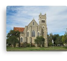 St. Pauls Anglican Church, Roma, Central. Que. Canvas Print