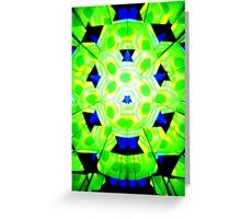 Green Twister Greeting Card