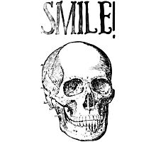 Smile! Smiling skull Photographic Print