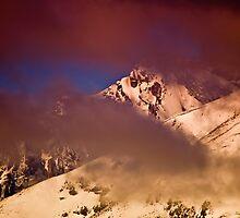 Skies Of Winter Mornings by John  De Bord Photography