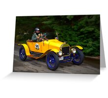 Ford Model T 1915 Greeting Card