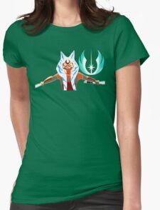 Ahsoka and Jedi Logo Womens Fitted T-Shirt