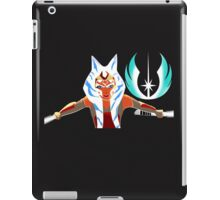 Ahsoka and Jedi Logo iPad Case/Skin