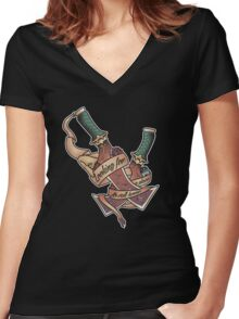 A Place To Call Home (Final Fantasy IX) Women's Fitted V-Neck T-Shirt