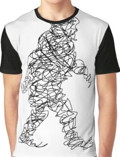 Wandering Doodle Graphic T-Shirt