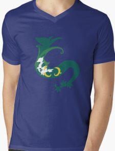 Snivy Inception Mens V-Neck T-Shirt