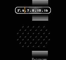 Transistor Radio - 70's Black by ubiquitoid