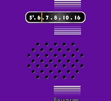 Transistor Radio - 70's Purple by ubiquitoid
