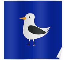 Cute seagull Poster