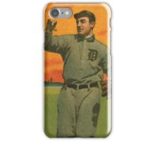 Benjamin K Edwards Collection Wild Bill Donovan Detroit Tigers baseball card portrait 001 iPhone Case/Skin